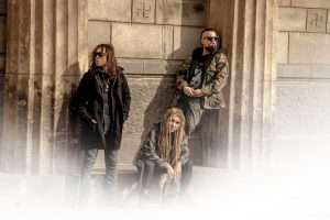 Alternative Metal Band Photo Shoot At The Cemetery